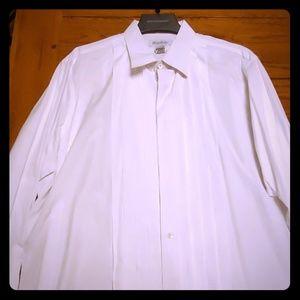 Tuxedo Shirt Brooks Brothers 17.5-36